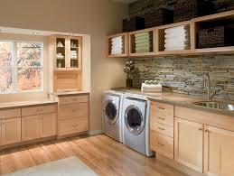 shaker door style laundry room transitional with 5 panel door
