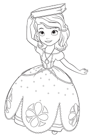25 Princess Sofia Coloring Pages In Sophie