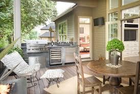 des id馥s pour la cuisine cuisine extérieure des idées pour rénover votre terrasse