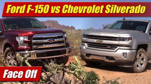 100 Ford Trucks Vs Chevy Trucks Face Off F150 50 V8 Vs Chevrolet Silverado 53 V8 YouTube