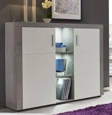 sideboard kommode in weiß grau wohnzimmer esszimmer