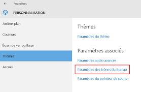 mettre les favoris sur le bureau windows 10 comment mettre les icônes sur le bureau