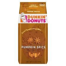 Dunkin Pumpkin Spice K Cups by Dunkin U0027 Donuts Pumpkin Spice Ground Coffee 11oz Target