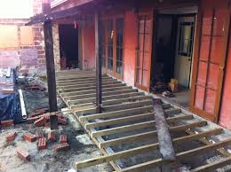 Floor Joist Span Tables by The Joy Of Wood Building A Timber Deck
