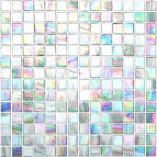 Iridescent Mosaic Tiles Uk by Color Glitz Iridescent Glass Mosaic Tile Image Of Iridescent Glass