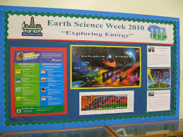 Earth Science Bulletin Board Ideas