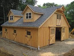 Horse barns – amish built modular horse barn – virginia – va