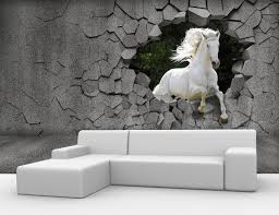 Custom 3D Horse Wallpaper Wall Painting For The Living Room Bedroom TV Background Waterproof Papel De Parede In Wallpapers From Home