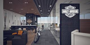 Harley Davidson Office Decor