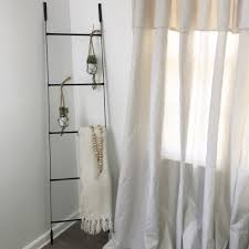 Electrical Conduit Curtain Rods by How To Diy No Sew Drop Cloth Curtains U2013 Faithful Farmhouse