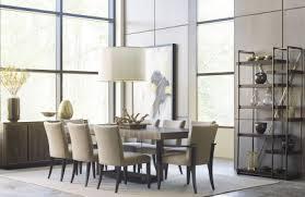 AD Modern Organics Smokey Quartz Bandon Extendable Rectangular Dining Room Set