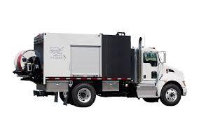 100 Sewer Truck MODEL 800 TRUCK JET SERIES Equipment