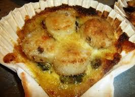 cuisiner les noix de st jacques surgel馥s coquilles st jacques gratinées les recettes de virginie