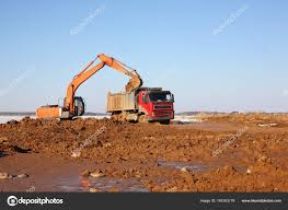 Construction - Excavator Behind Dump Truck Work — Stock Photo ... Shpullturn Dump Truck Gets To Work Book By Peter Bently Joe Greenlight Sd Trucks 2018 Intl Star White 164 Scale Cstruction Of Moorings For The Parking Boats Excavator New Jersey School Bus Crashes Into Time An Old Dump Truck Is Positioned In A Gravel Yard With Box Raised Up Trucks Running At Cstruction Site Transfer Used Two Yellow Ready To Black And Stock Photo Crews Work Rescue Person Involved Accident Near Buhl Summit Chevrolet Silverado 3500hd Regular Cab Amloid Kids 25piece Of Blocks Walmartcom