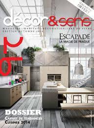 papier peint sp ial cuisine magazine decoresens n 26 automne 2014 by decoretsens decoretsens