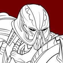 Transformers Megatron Coloring Page