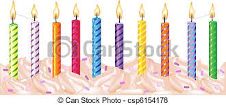 Birthday Candles csp