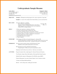 Examples Of Student Resumes For Internship Best Sample Resume Collection Solutions Mechanical Engineering