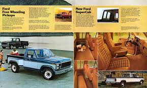 100 Ford Truck 1980 Pickup Brochure