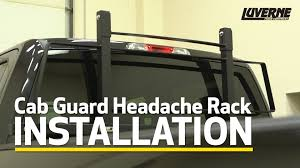 Luverne Install: Cab Guard On Ford F-150 - 590201, 590202, 590230, 590235,  590236 Hdx Heavy Duty Truck Cab Protector Headache Rack Wesnautotivecom Weather Guard 19135 Ford Toyota Mounting Kit 10595201 Racks Ca 1904502 Protectors Us 1906302 1905002 Serviceutility Bodies The Dexter Company Brack 30111 Guards Cap World Inc In Trucks Accsories Landscape Truck Body South Jersey