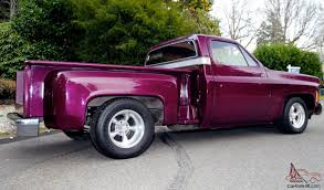 Chevy Stepside Custom CHOP TOP Low Rider Shortbox Pickup X-Show ...