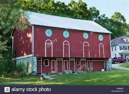 Barn With Hex Signs, Berks County, Pennsylvania Stock Photo ... What Are Barn Quilts A Look At Their History Handcrafted Goat Milk Skin Care Honey Hills Farm Pennsylvania Dutch Hex Sign Mighty Oak Tree 201 Best And Signs Images On Pinterest Raising Fredas Hive Tour Signs Dutch Folk P1000813jpg Double Good Luck Distelfink Bird 8 German Amish Coloring Page Free Printable Hidden Meanings Of Hex Filemascot Mills W Hexes Lanco Pajpg Wikimedia Commons