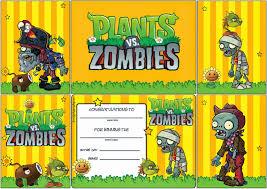 Bumeran Colorear Plants Vs Zombies