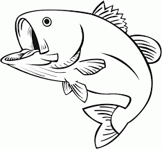 8 Pics Of Jumping Fish Coloring Pages
