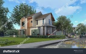 100 Best Homes Design 3 D Rendering Architectural House 1085435420