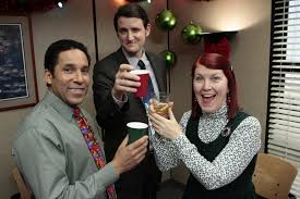Here s an upbeat economic indicator The office holiday party is