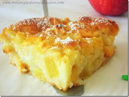 gâteau aux pommes sans oeufs facile le cuisine de samar