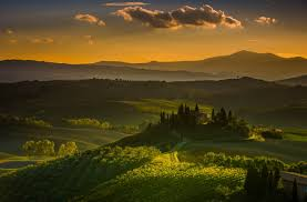 Landscape Tuscany Italy Wallpaper And Background