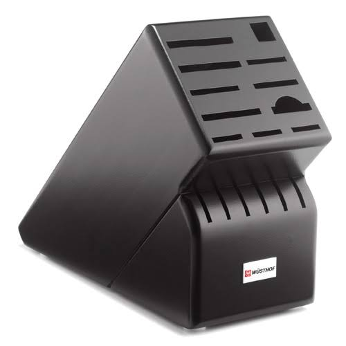 Wusthof 17 Slot Black Knife Block