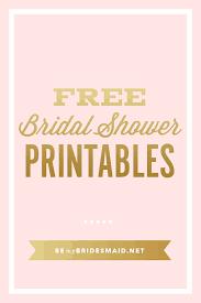 Planning A Bridal Shower Checklist