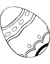Kid Easter Coloring Pages Eggs