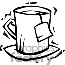 Clipart Black And White Iced Tea