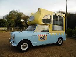 Austin/Morris Mini Walls ICE CREAM VAN 1967F 61k 2 Seats Blue/yellow ...
