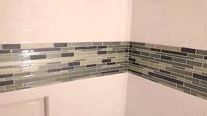 Tiling A Bathtub Lip by How To Tile Around A Tub Youtube
