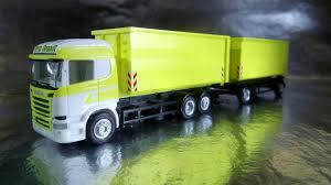 Herpa Trucks 307345 Scania R HL Container Trailer