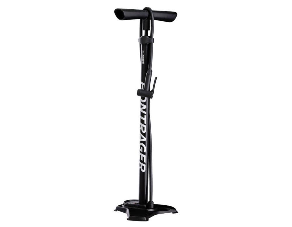 Bontrager Charger Floor Pump - Black - 555606