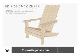 Adirondack Chair Plans — The Rustic Goose Lowes Oil Log Drop Chairs Rustic Outdoor Finish Wood Sherwin Ideas Titanic Deck Chair Plans Woodarchivist Wooden Lounge For Thing Fniture Projects In 2019 Mesmerizing Pallet Best Home Diy Free Seat Build Table Ding Dark Polish Adirondack Interior Williams Cedar Plan This Is Patio Chair Plans Modern From 2x4s And 2x6s Ana White Tall Adirondack