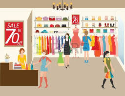 Ideal Clothing Store Clipart Fashion Shop Clipground
