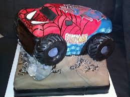100 Spiderman Monster Truck Jam CakeCentralcom