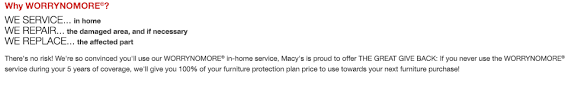 Furniture Protection Plan Macy s