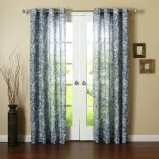 Target Blue Grommet Curtains by Curtain Awesome Blue Grommet Curtains Indigoblue And White Striped