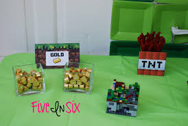 Cubicle Decoration Themes Green by Minecraft Party Decoration Ideas And Downloadable Printables