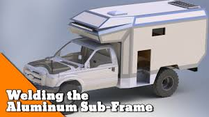 Welding The Aluminum Sub-Frame - How To Build An Overlander. - YouTube New Archives Nucamp Rv Cirrus Truck Camper 8 Truck Camper With Jacks Alinum Steps Great Cdition Creative Alinum Pickup Bed Camper Item E5636 So Rvmh Hall Of Fame Museum Library Conference Center Camplite 68 Ultra Lweight Floorplan Livin Lite Are Alinum Dcu Lite Build Expedition Portal Truck Frame Lance 650 Half Ton Owners Rejoice Four Wheel Performance Gear Research Truckdomeus 119 Best Interiors Images On Pinterest