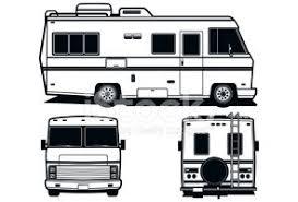 Recreation Vehicle Rv Stock Vectors