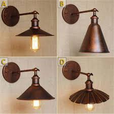 vintage industrial wall l retro loft rustic wall light laras