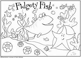 Ocean Scene Coloring Page Pages For Kids To Print Last Additions Underwater Skillful 18 On